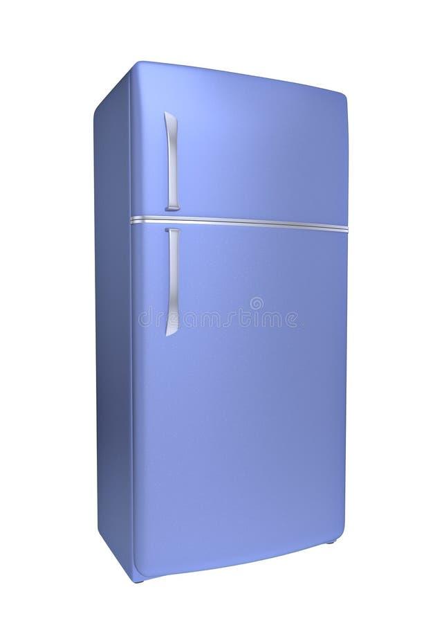 Refrigerador moderno stock de ilustración
