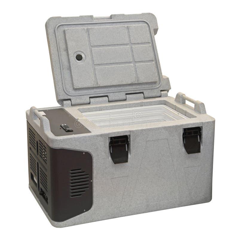 Refrigerador portátil imagens de stock