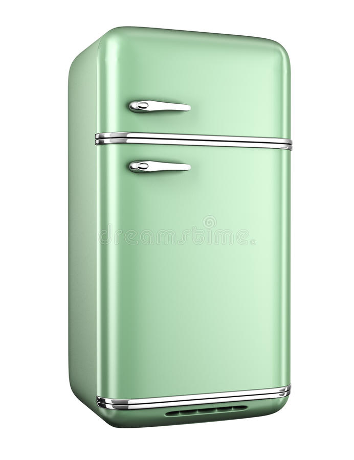 Refrigerador retro libre illustration