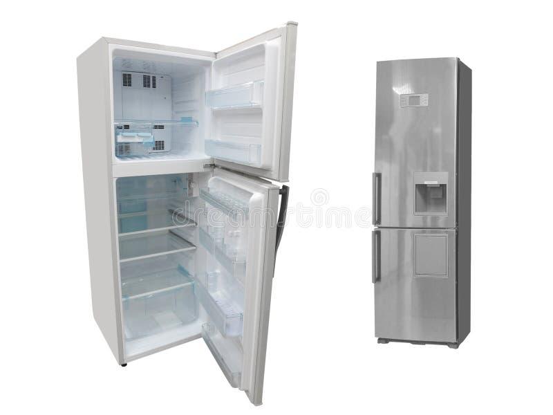 Refrigeradores imágenes de archivo libres de regalías