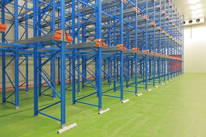 Cold storage warehouse royalty free stock photo