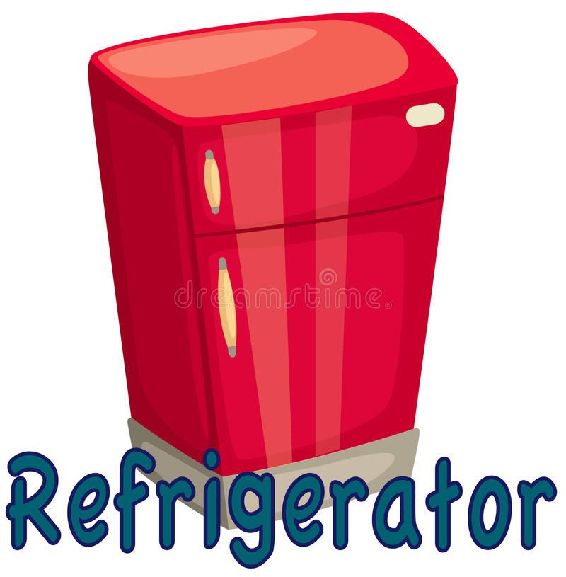 Download Refrigerator stock vector. Image of cartoon, isolated - 17492337