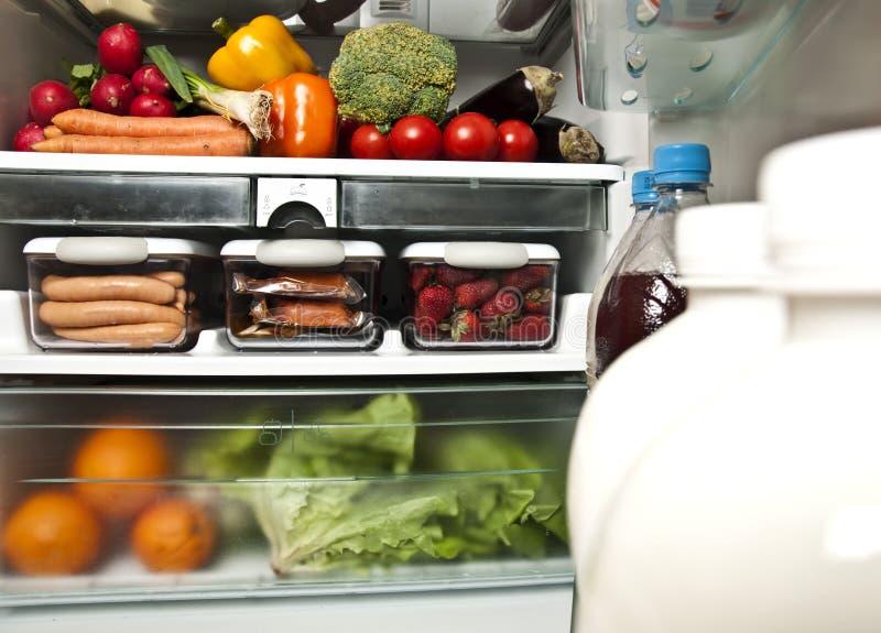 Refrigerator stock image