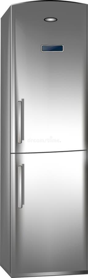 Refrigerator stock illustration