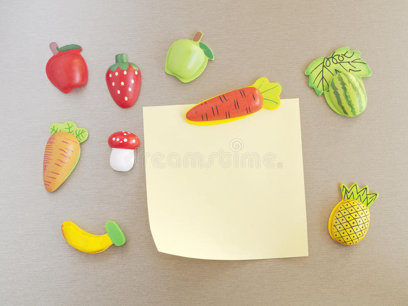 Refrigerator magnets royalty free stock photos