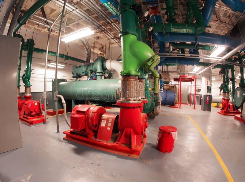 Refrigeratori centrifughi fotografie stock libere da diritti