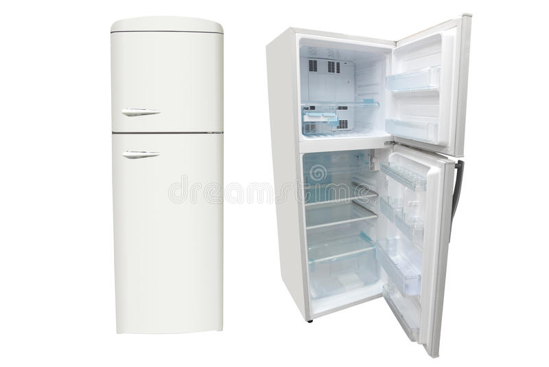 Refrigerators royalty free stock photos