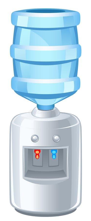 Refroidisseur illustration de vecteur
