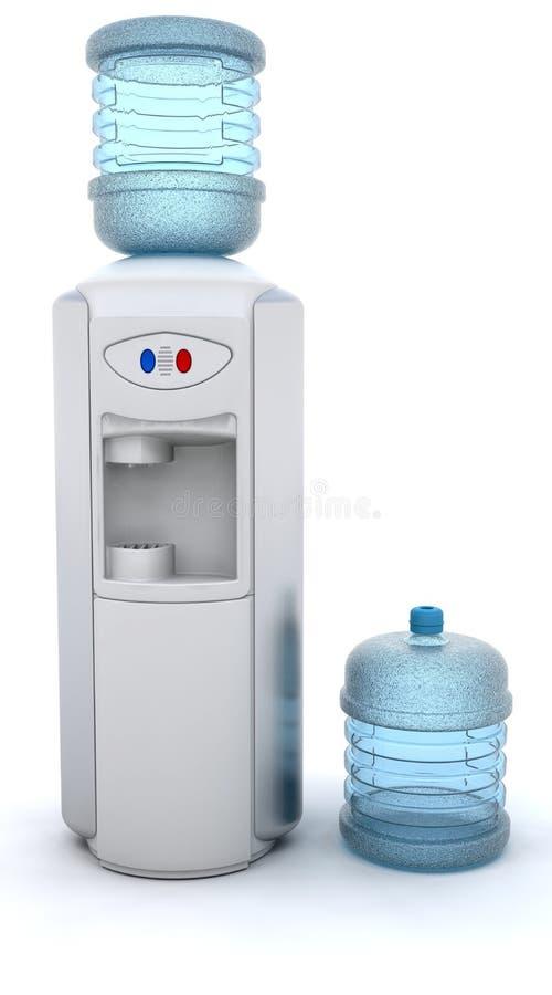 Refroidisseur d'eau illustration stock