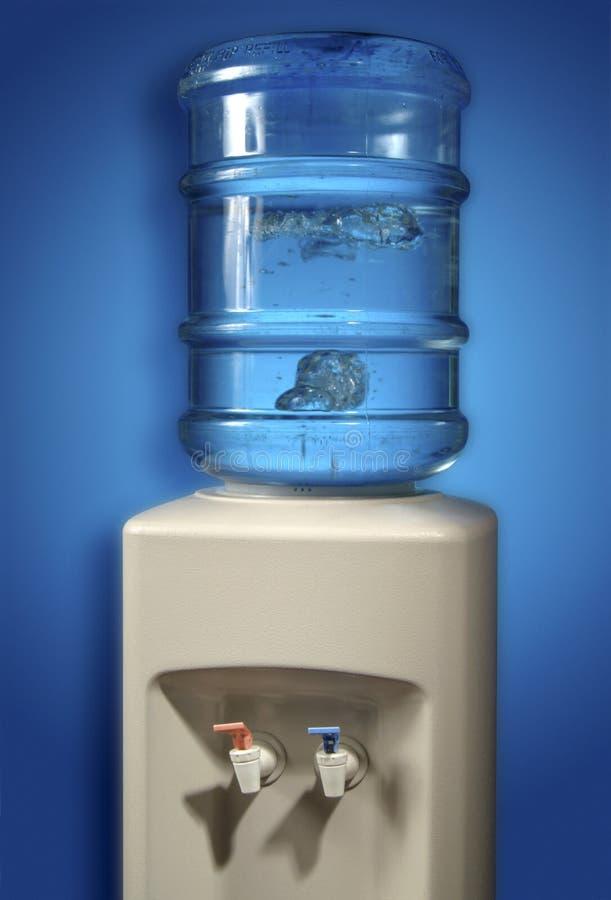 Refroidisseur d'eau. image stock