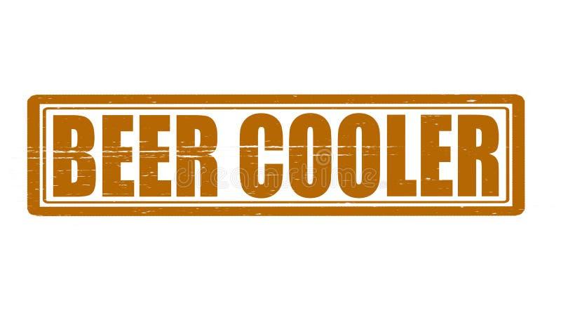 Refroidisseur de bière illustration stock