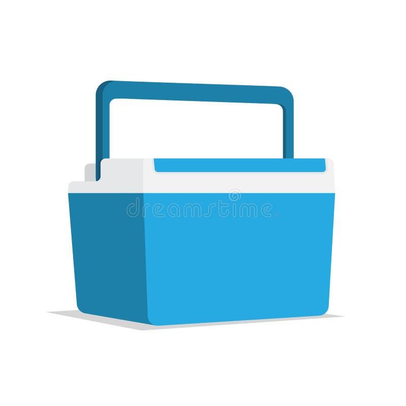 Refroidisseur de glace de conteneur de nourriture illustration libre de droits