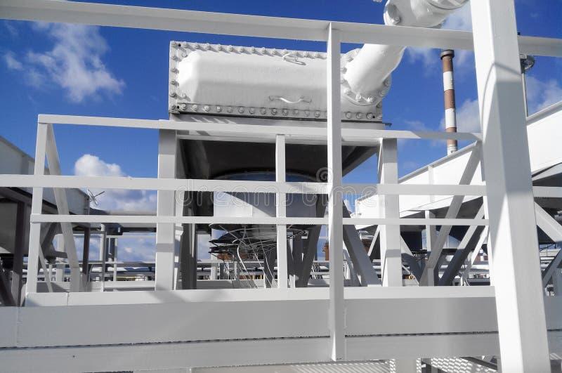 Refroidisseurs d'air d'essence photo libre de droits