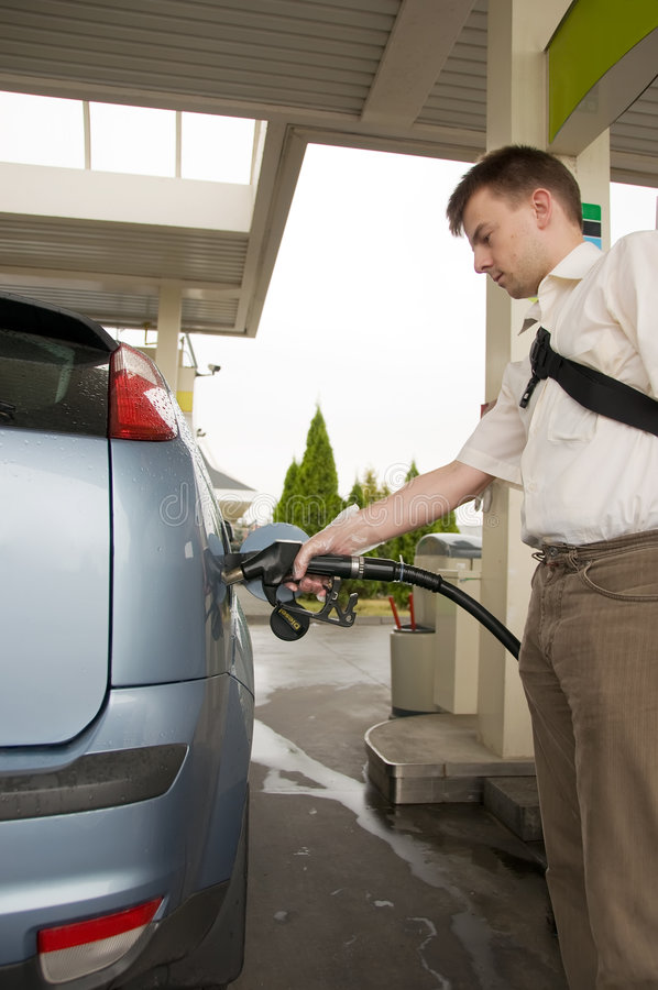 Download Refuel stock photo. Image of distributor, filling, auto - 6040232