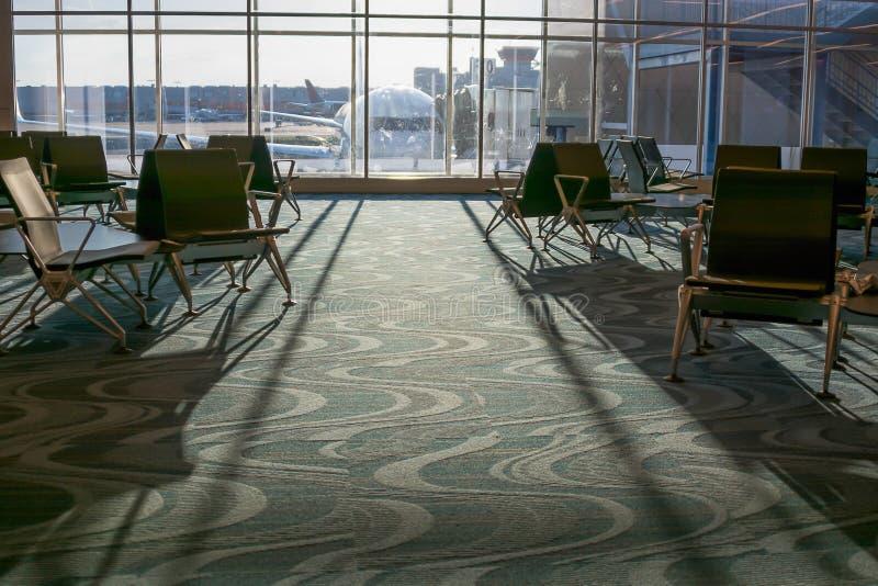 Refuge d'aéroport photographie stock