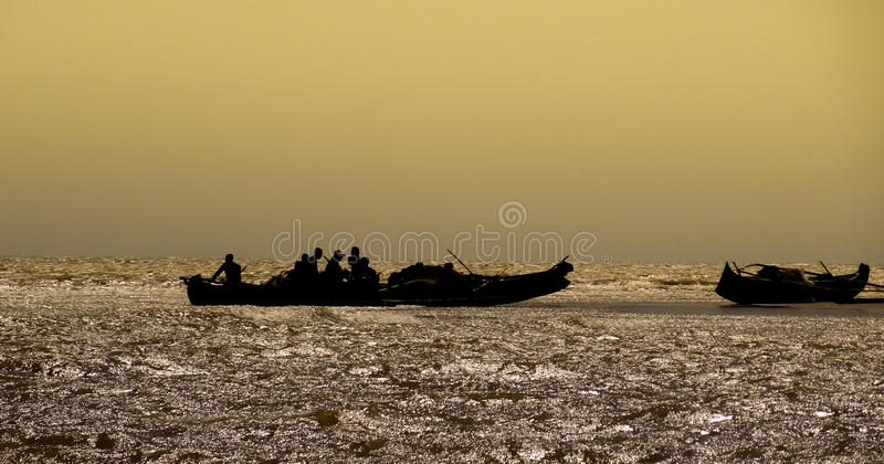 Refugees royalty free stock photos