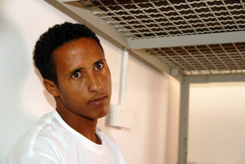 Refugiados africanos en Israel foto de archivo libre de regalías