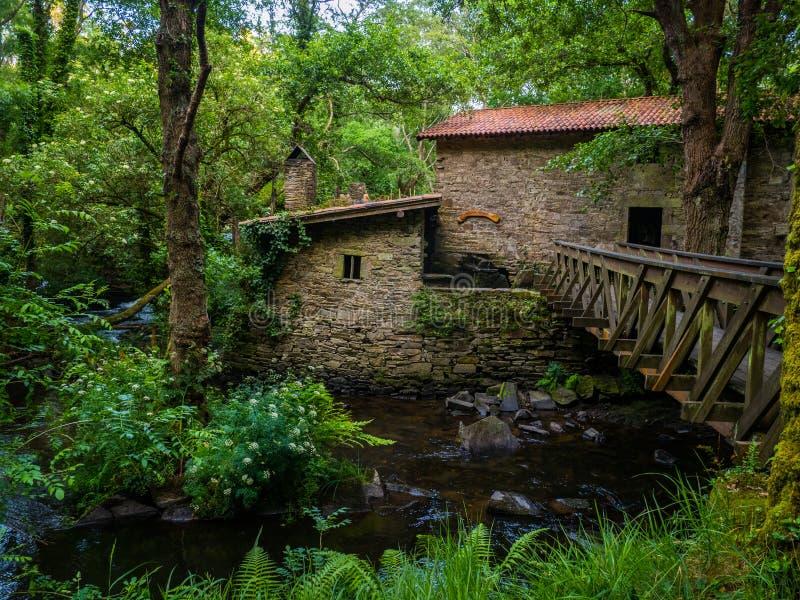 Refugio de Verdes в Coristanco - Coruna стоковые фото