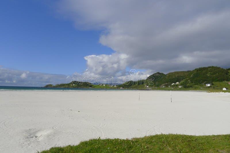 Refvikstranda, Norvège photographie stock libre de droits