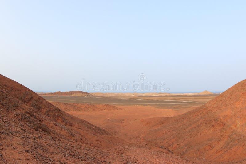 Reg pustynia, Marsa Alam, Egipt zdjęcie royalty free