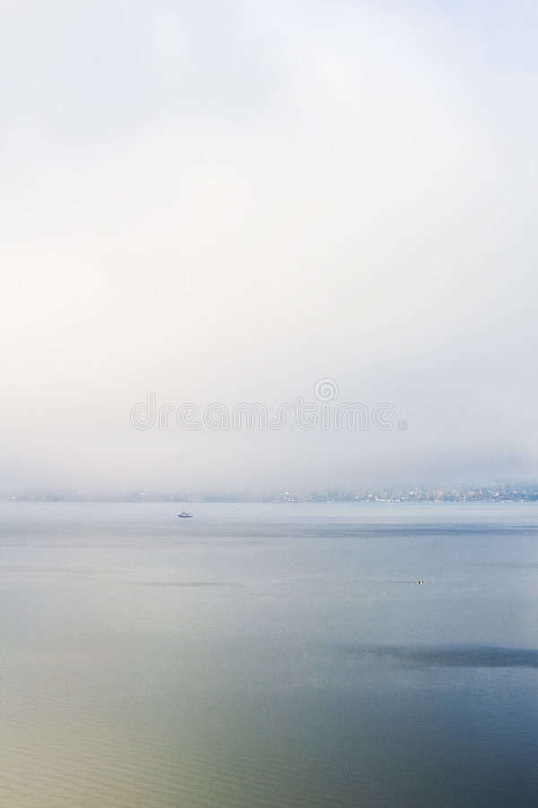 Regain et océan photos stock