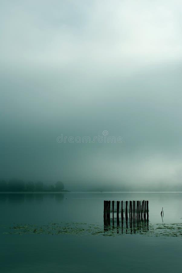 Regain sur le lac photographie stock libre de droits