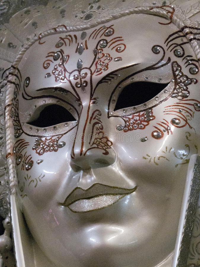 Regal Mask. Regal and noble decorative mask appropriate for Halloween or Mardi Gras royalty free stock photography