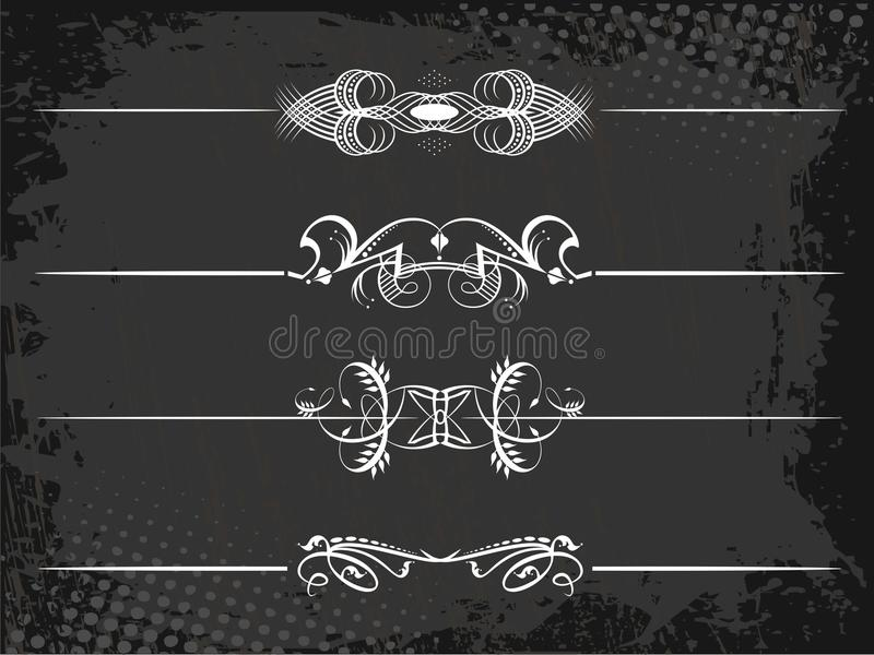 Download Regal Rule Line With Crowns Stock Vector - Image: 24243047