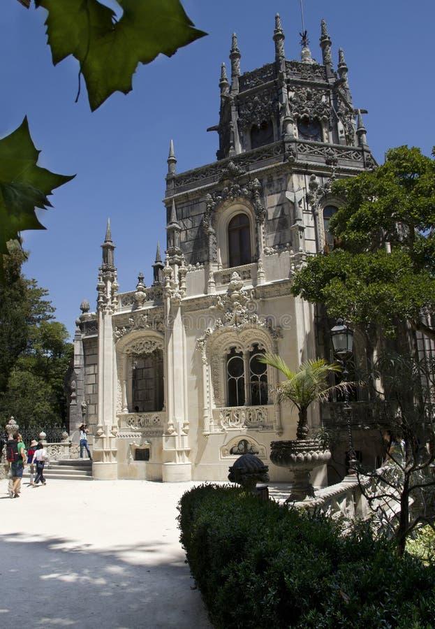 regaleira f?r da quinta Sommarlopp i Portugal royaltyfria bilder