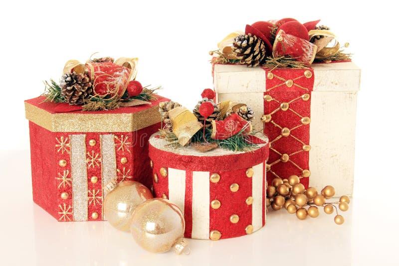 Regali di Natale immagini stock libere da diritti