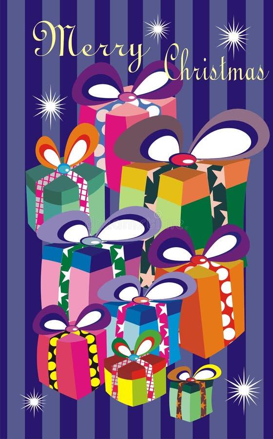 Regali di Natale royalty illustrazione gratis