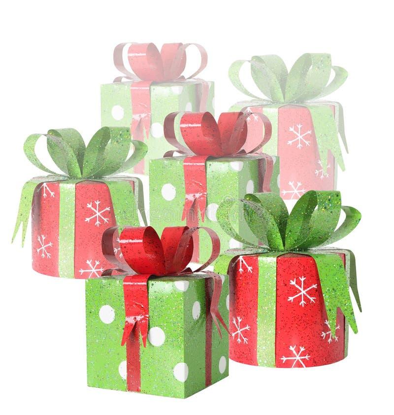 Regali di Natale fotografia stock libera da diritti