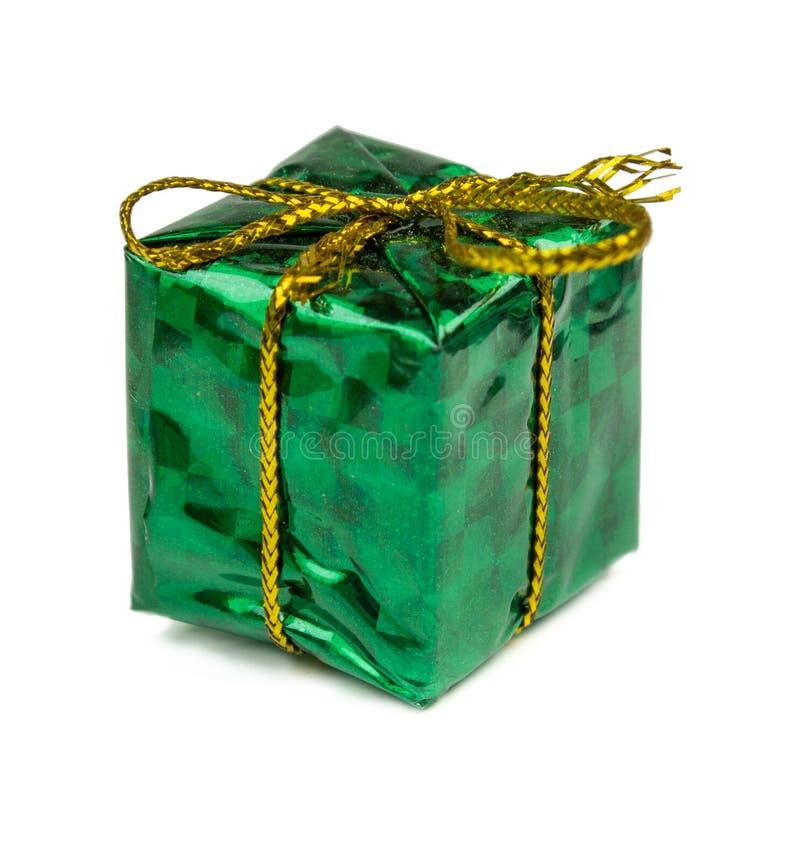 Regali di Natale e giocattoli isolati su fondo bianco immagine stock libera da diritti