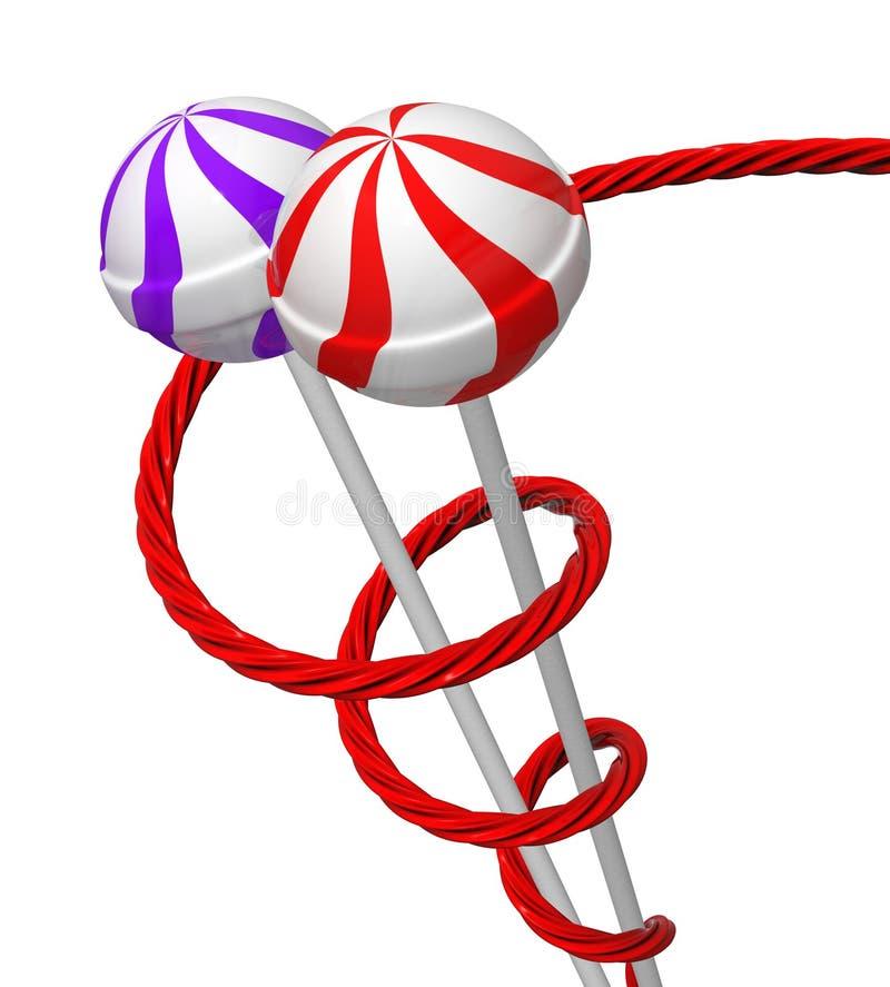 Regaliz y lollipop 2 libre illustration