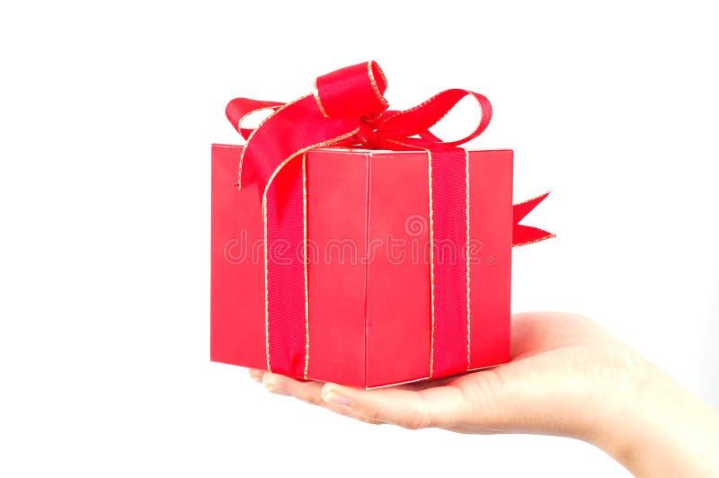 Regalo #5 foto de archivo libre de regalías