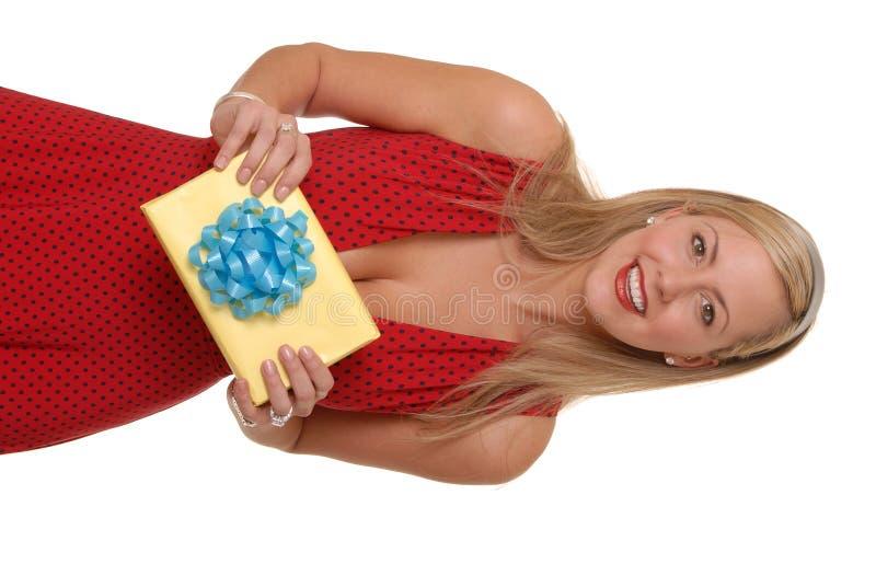 Regalo atractivo 4 fotografía de archivo libre de regalías