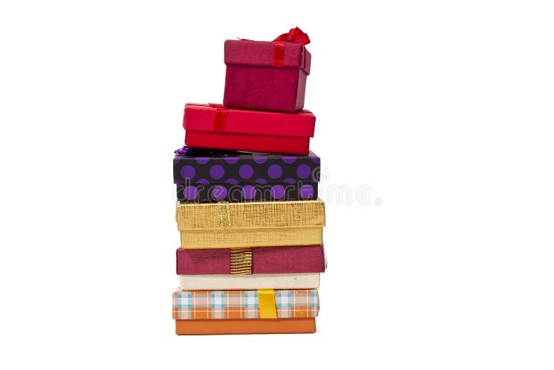 Regalo Boxes imagen de archivo libre de regalías