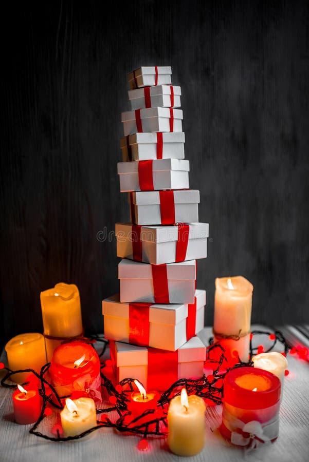 Regalo Boxes fotografía de archivo libre de regalías