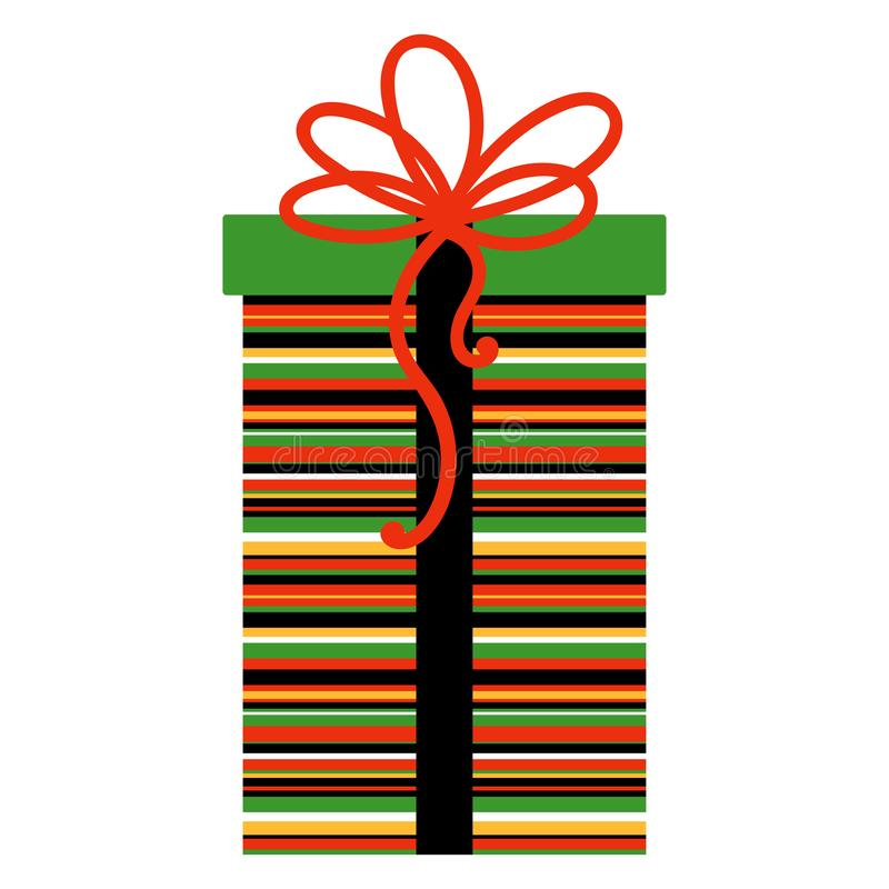 Regalo de Kwanzaa libre illustration