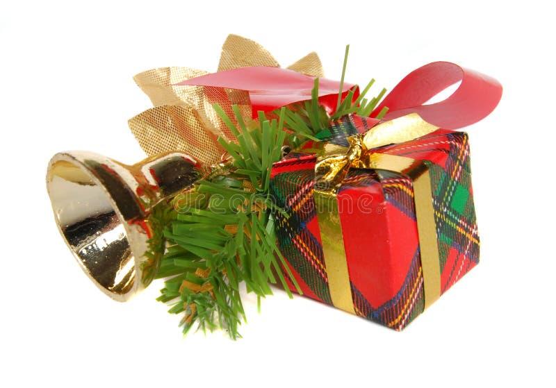 Regalo de la Navidad fotografía de archivo