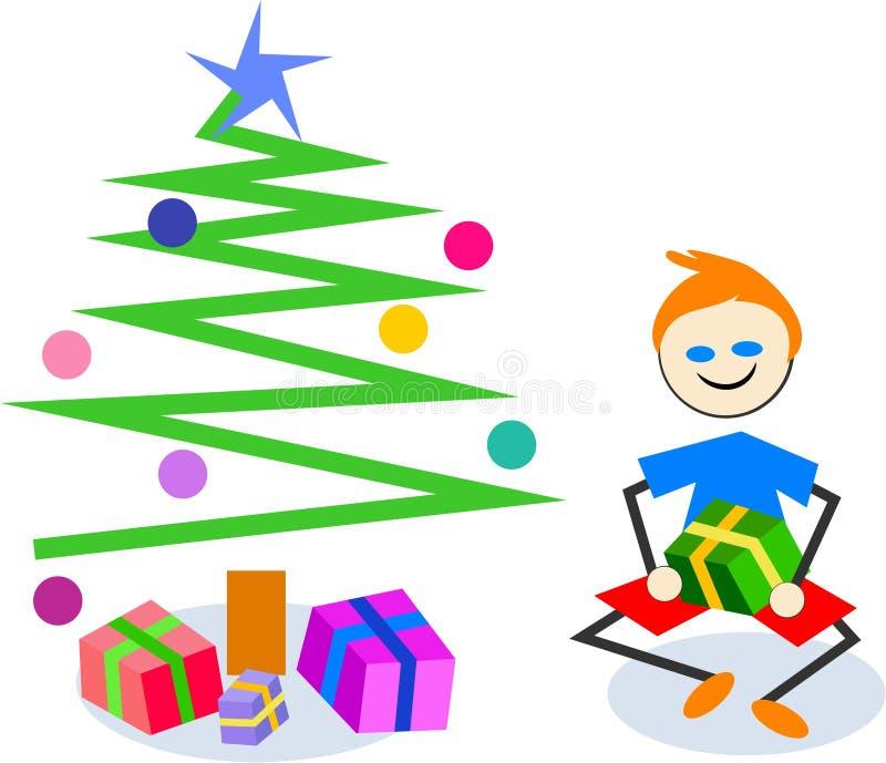 Regalo de la Navidad libre illustration
