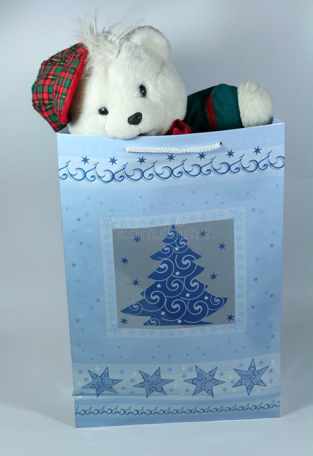 Regalo de la Navidad para un niño foto de archivo