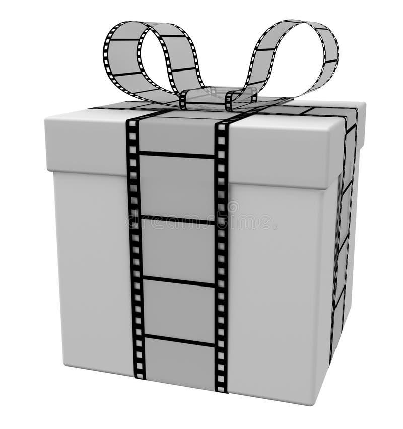 Regalo de la película ilustración del vector