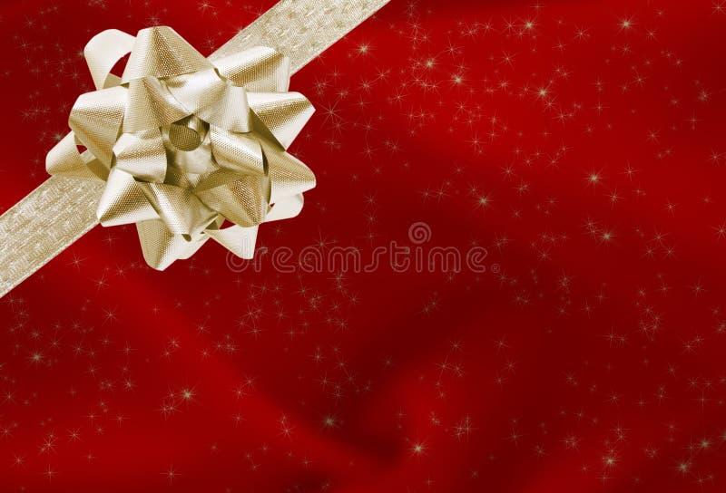 Regalo de Navidad fotos de archivo