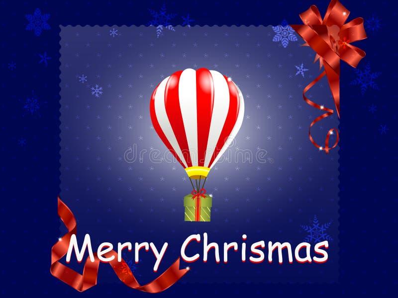 Regalo del aire de la Navidad libre illustration