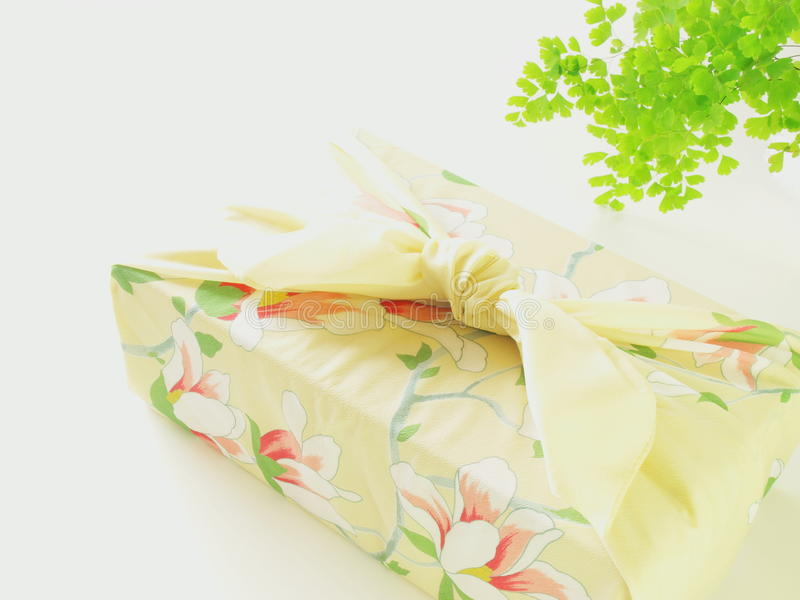 Regalo del kimono imágenes de archivo libres de regalías