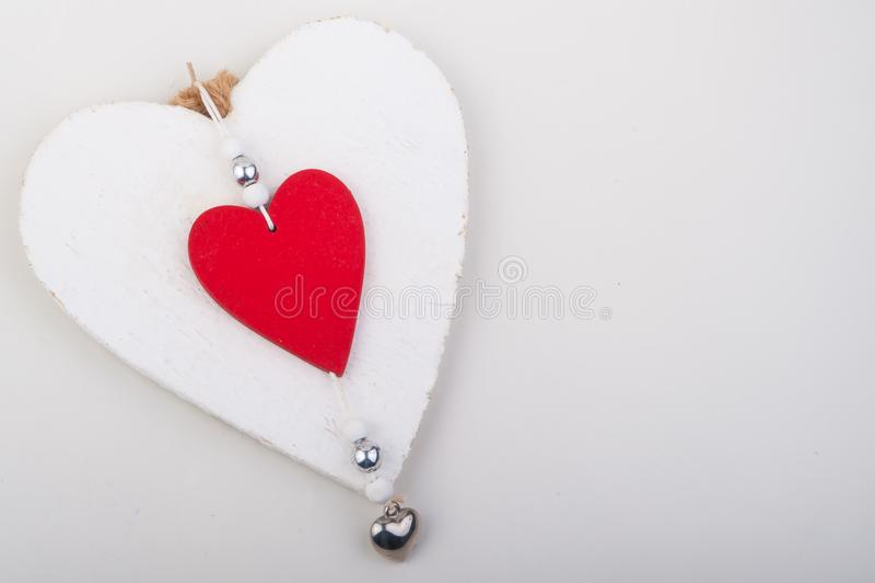 Regalo del special del día del ` s de la tarjeta del día de San Valentín imagen de archivo libre de regalías