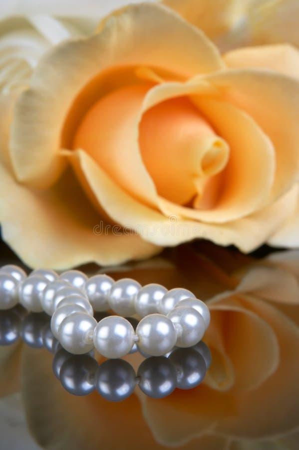 Regalo della perla immagini stock libere da diritti