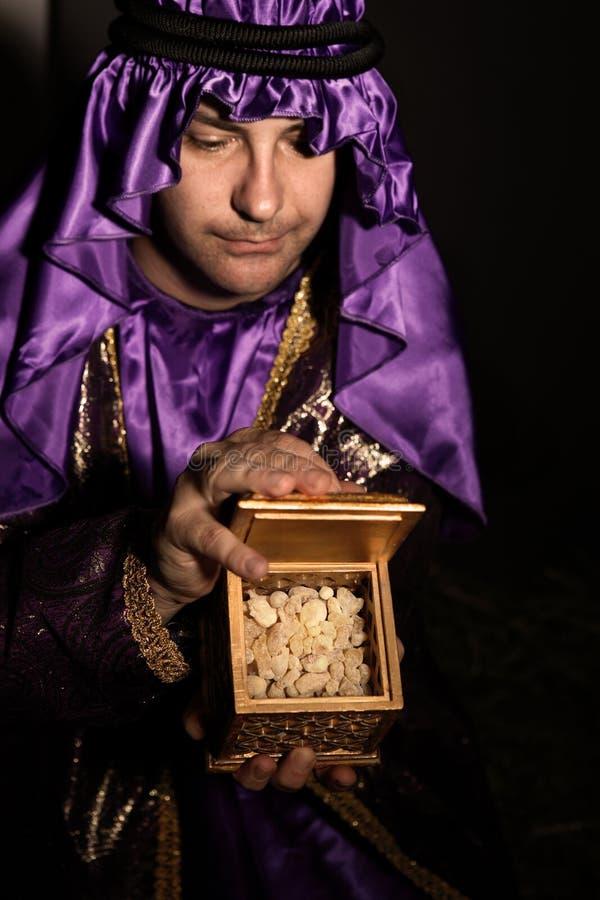 Regalo di Frankincense fotografie stock
