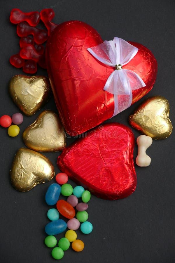 Regalo di giorno del biglietto di S. Valentino immagini stock